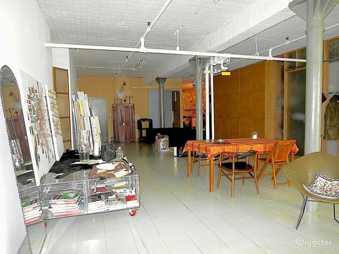 Eclectic bohemian artist loft in manhattan/LES Photo 4