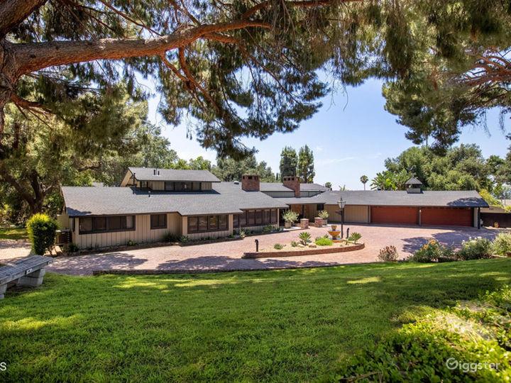 Unique & Private Contemporary Ranch Estate