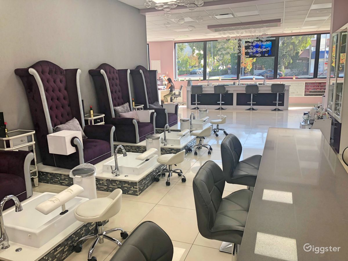 Rent Nail Bar Salon/Spa (commercial) for film/photoshoot in Glendale ...