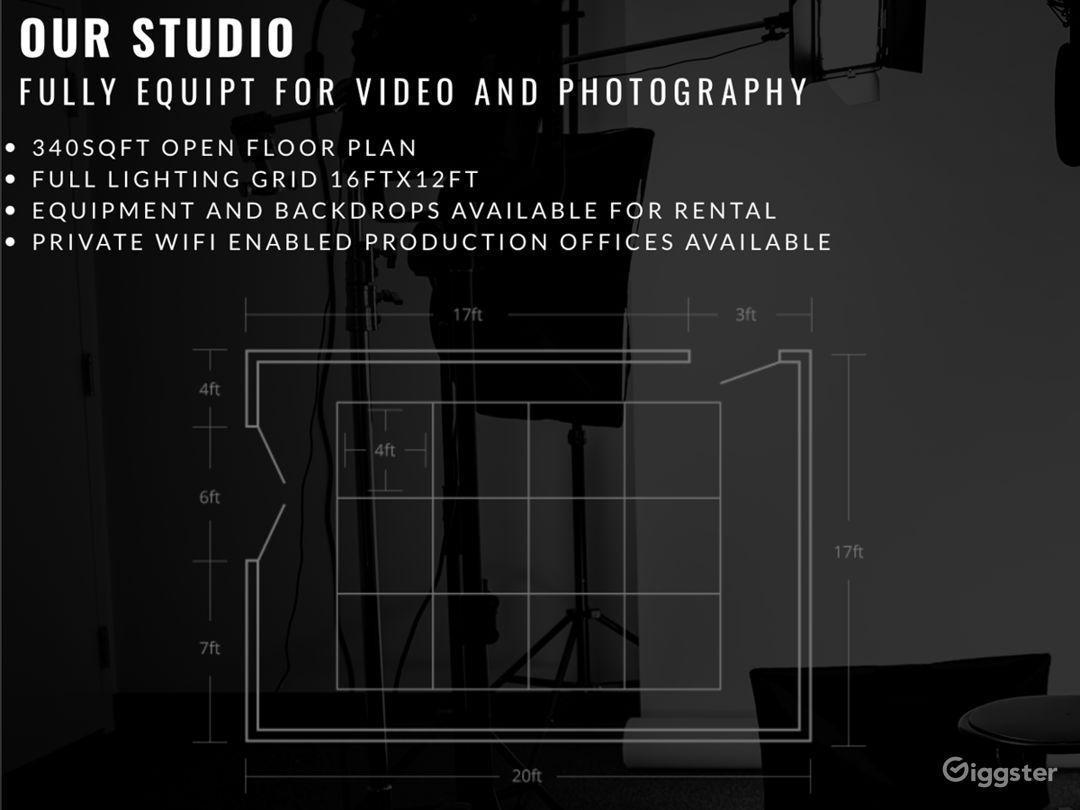Video Photography Podcast Rental Studio Photo 3