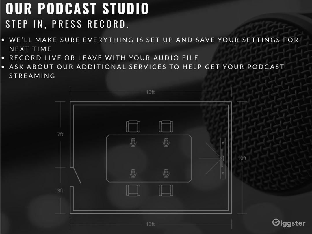 Video Photography Podcast Rental Studio Photo 4