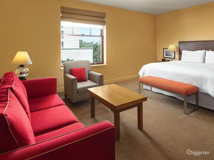1 King, Sofa bed Junior Suite