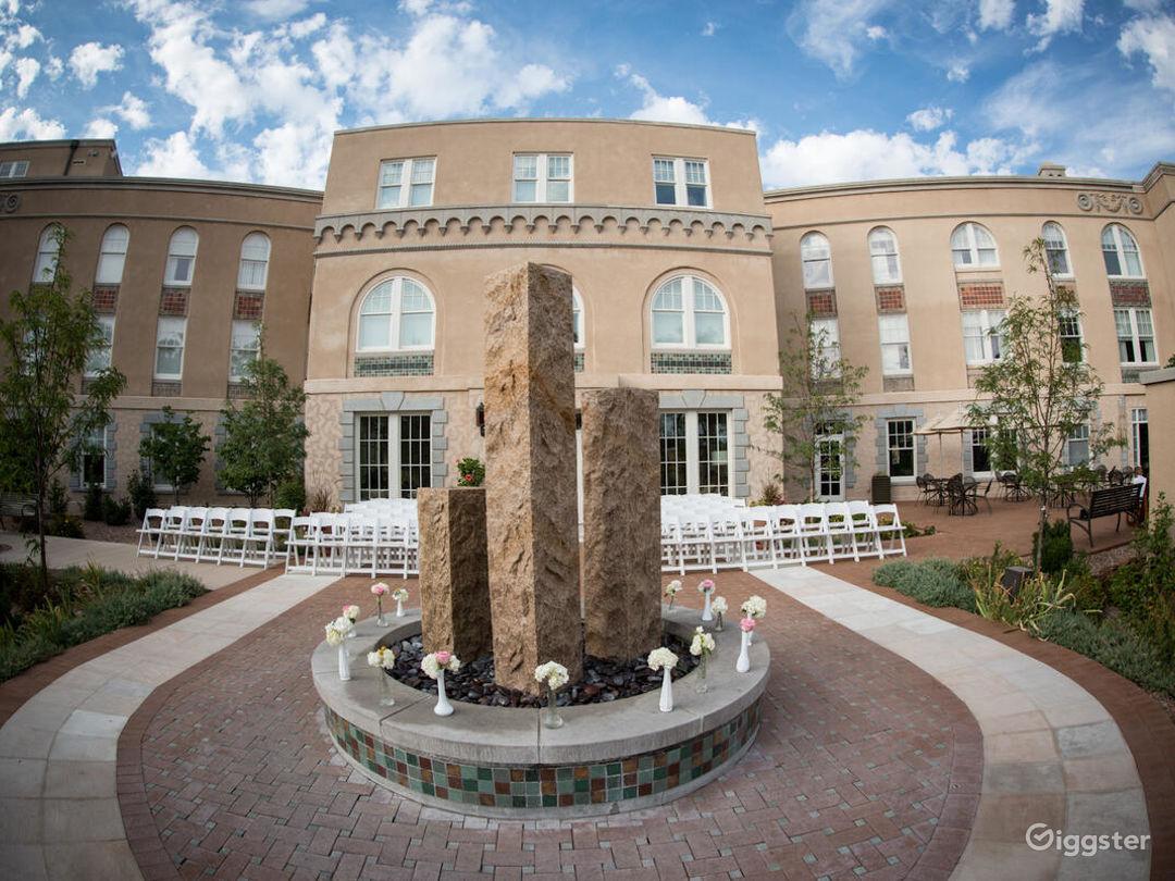 Courtyard in Albuquerque Photo 1