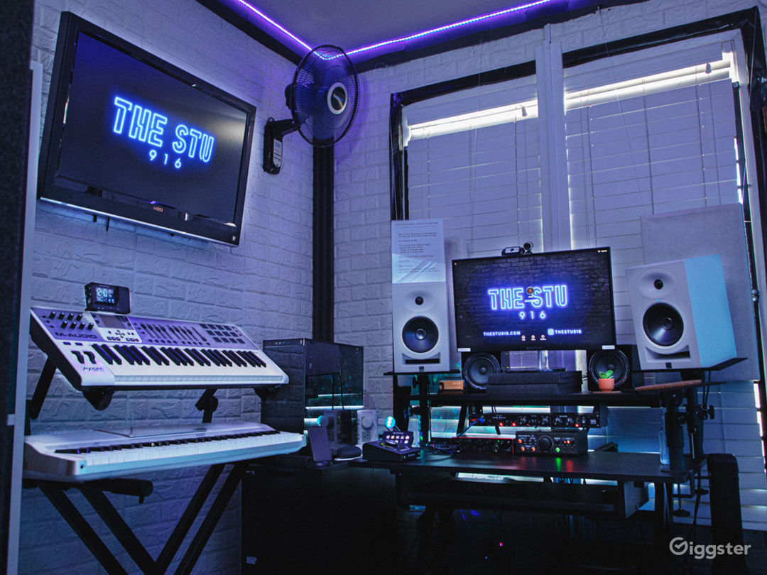 Outer Space Inspired Audio Studio Photo 1