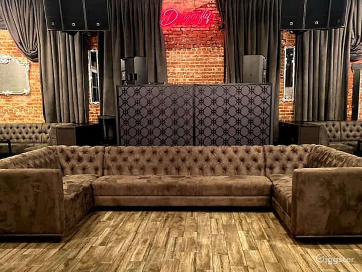 State of the Art Indoor Event Space with Stage & VIP Table Seating Photo 4