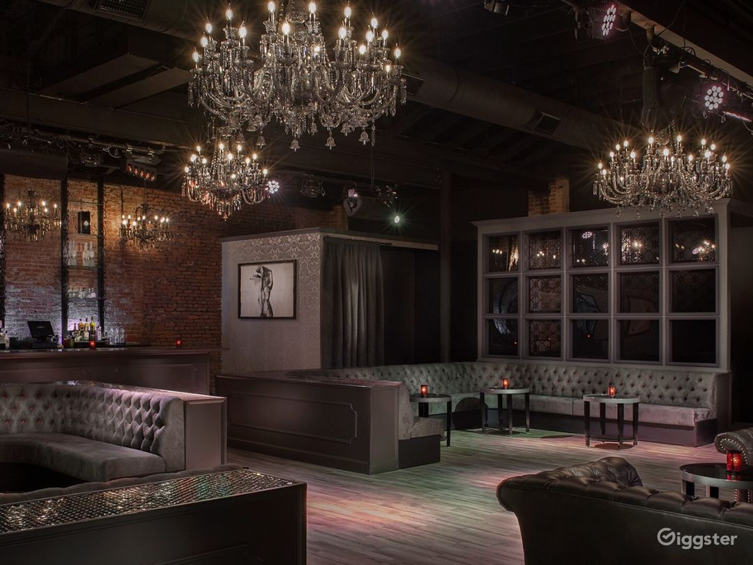 State of the Art Indoor Event Space with Stage & VIP Table Seating Photo 1