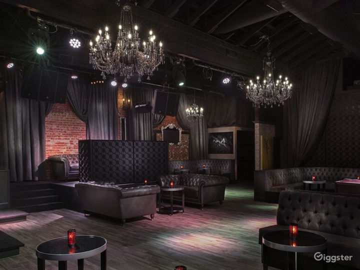 State of the Art Indoor Event Space with Stage & VIP Table Seating Photo 2
