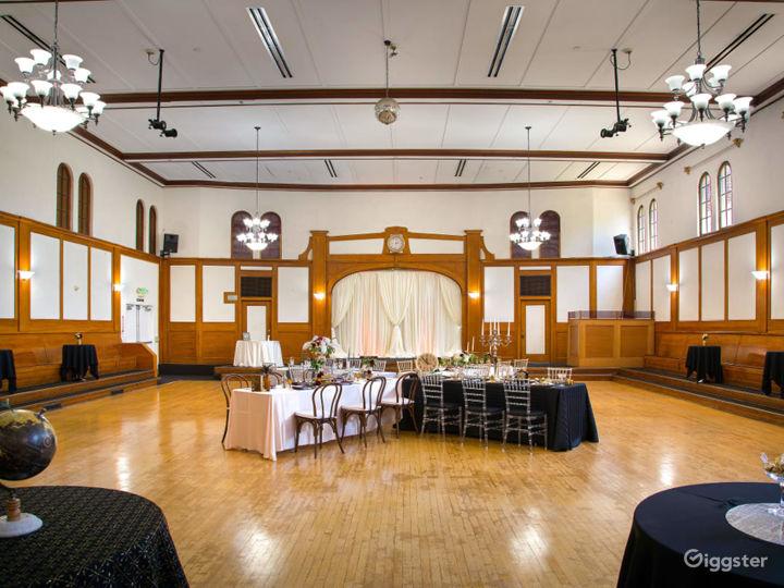 Historical Spacious Ballroom Built in 1927