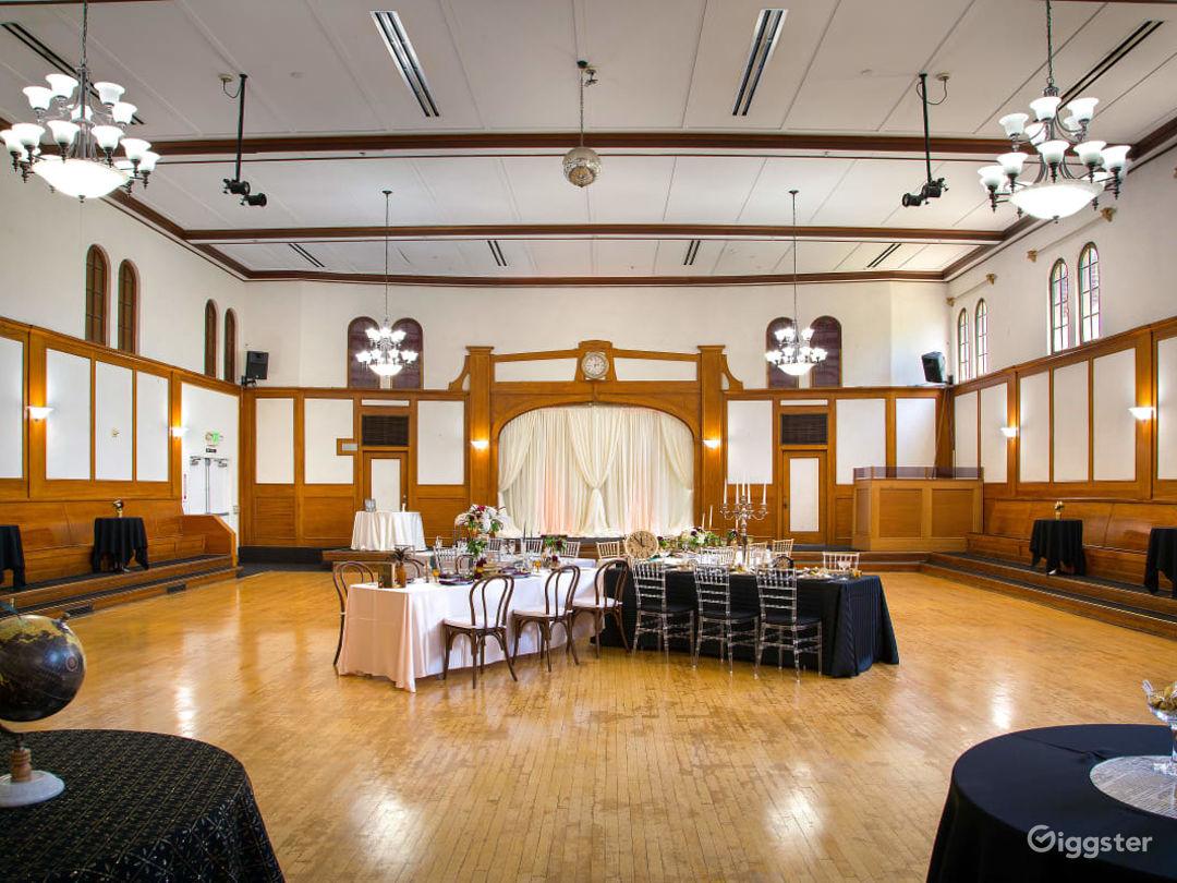 Historical Spacious Ballroom Built in 1927 Photo 1