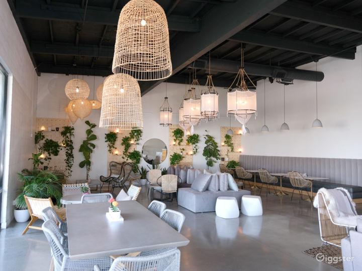 Earthy Mid Century Modern Showroom