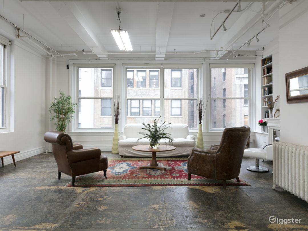 Manhattan 2000 sq ft Studio Loft Photo 3