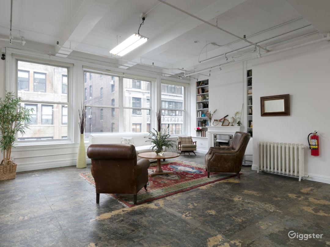 Manhattan 2000 sq ft Studio Loft Photo 2