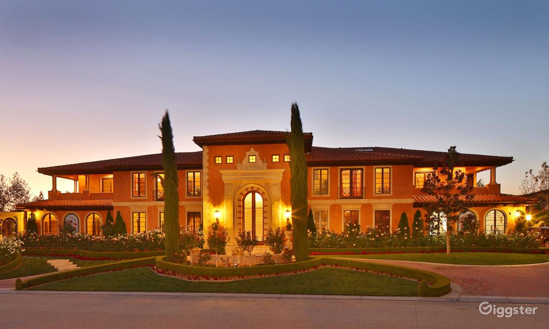 rent venetian style calabasas mansion mansion or estate residential