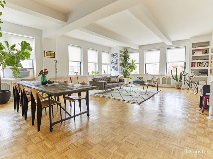 Sun-drenched East Village apartment