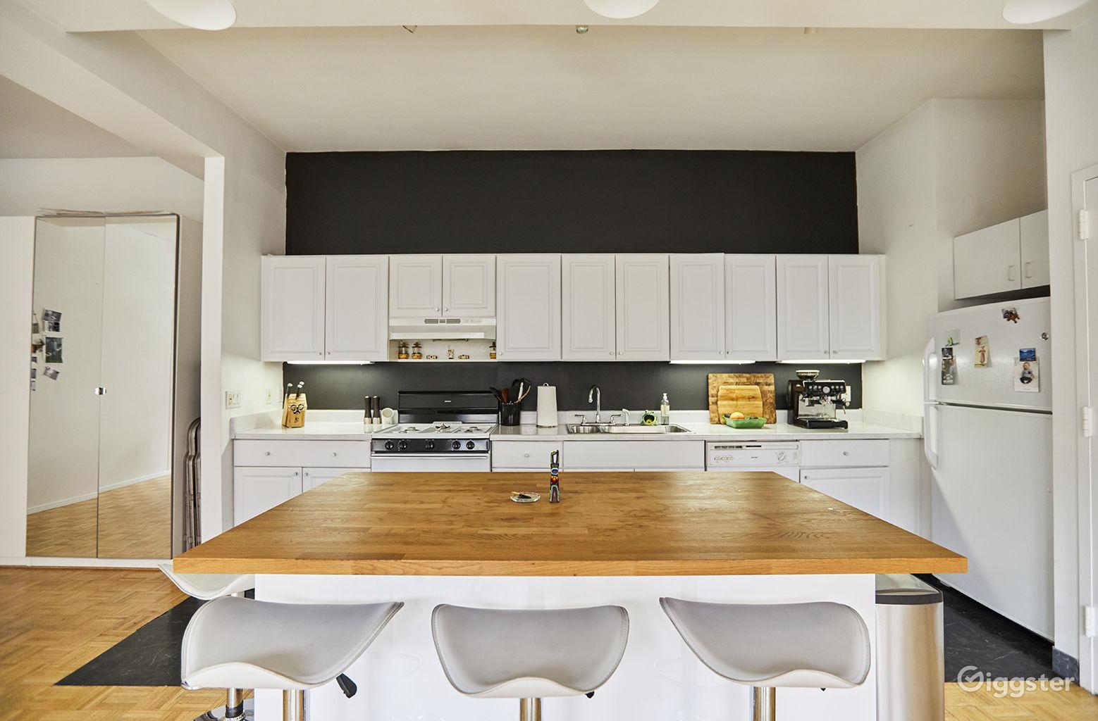 East Village Apartment Kitchen New York Rental