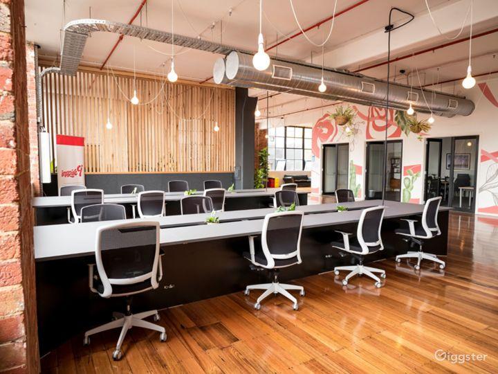 Hot desking inspire9 coworking
