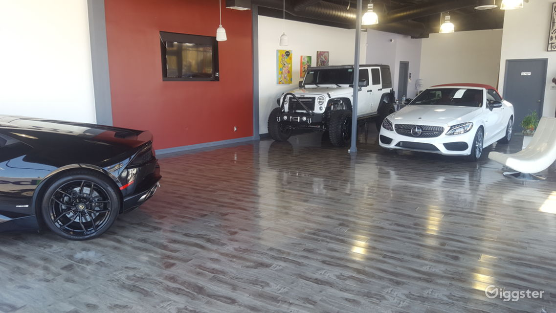 Rent Great Studio Space With Luxury Cars Included Loft Studio