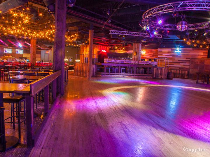 2200 square foot dance floor