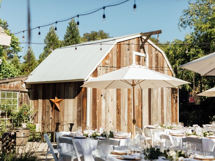 Outdoor Patio in California Wine Country Photo 5