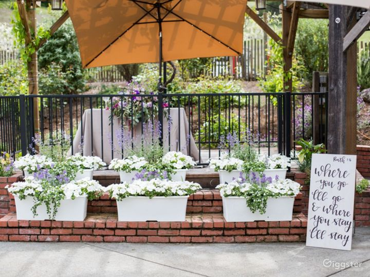 Outdoor Patio in California Wine Country Photo 3