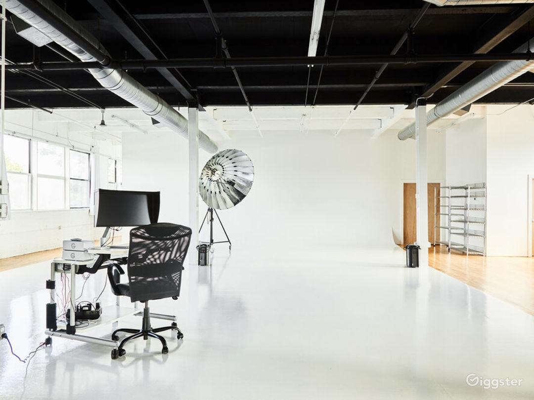 Fashioned-Ready Cyclorama Photography Studio Photo 1