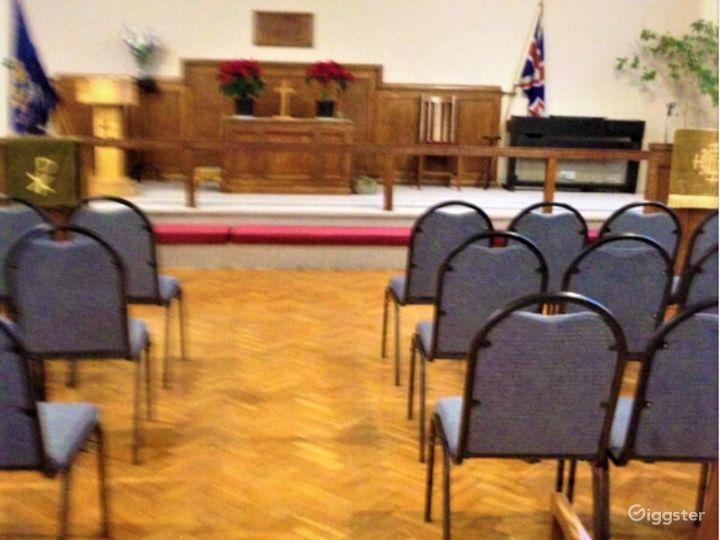 Fully Equipped Church Hall in Manchester Photo 4