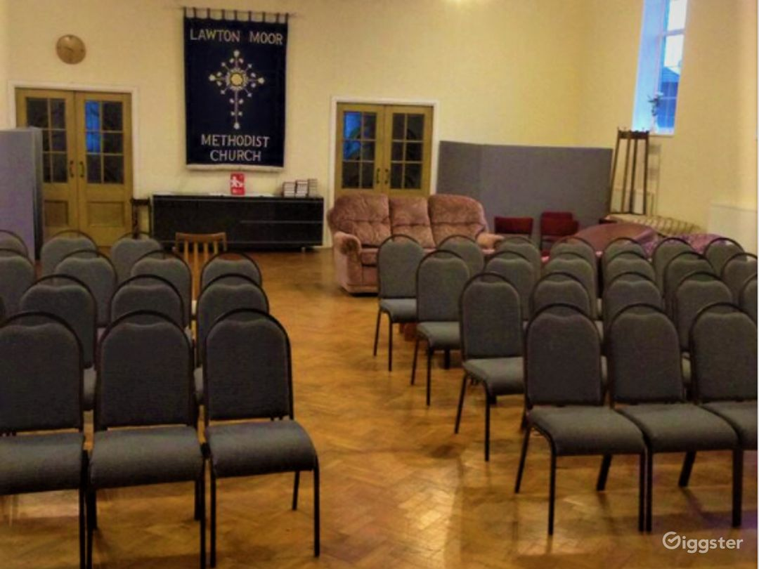 Fully Equipped Church Hall in Manchester Photo 1