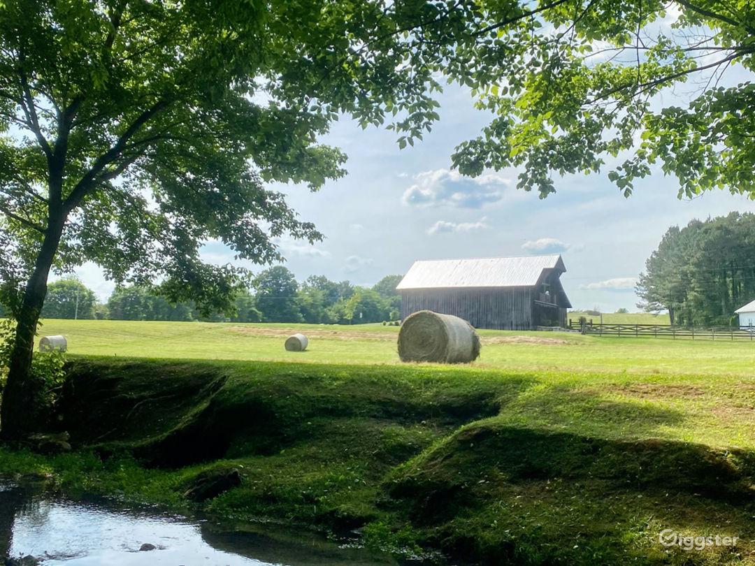 Barn Venue set on 62 acres