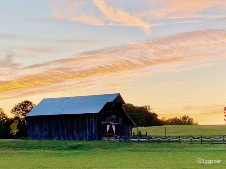 Large unique farm venue with multiple barns Photo 5