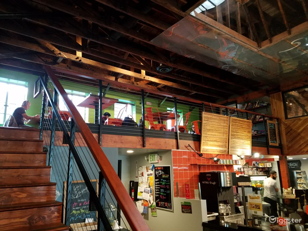 Cafe & Grocery Store In Restored Warehouse Photo 4