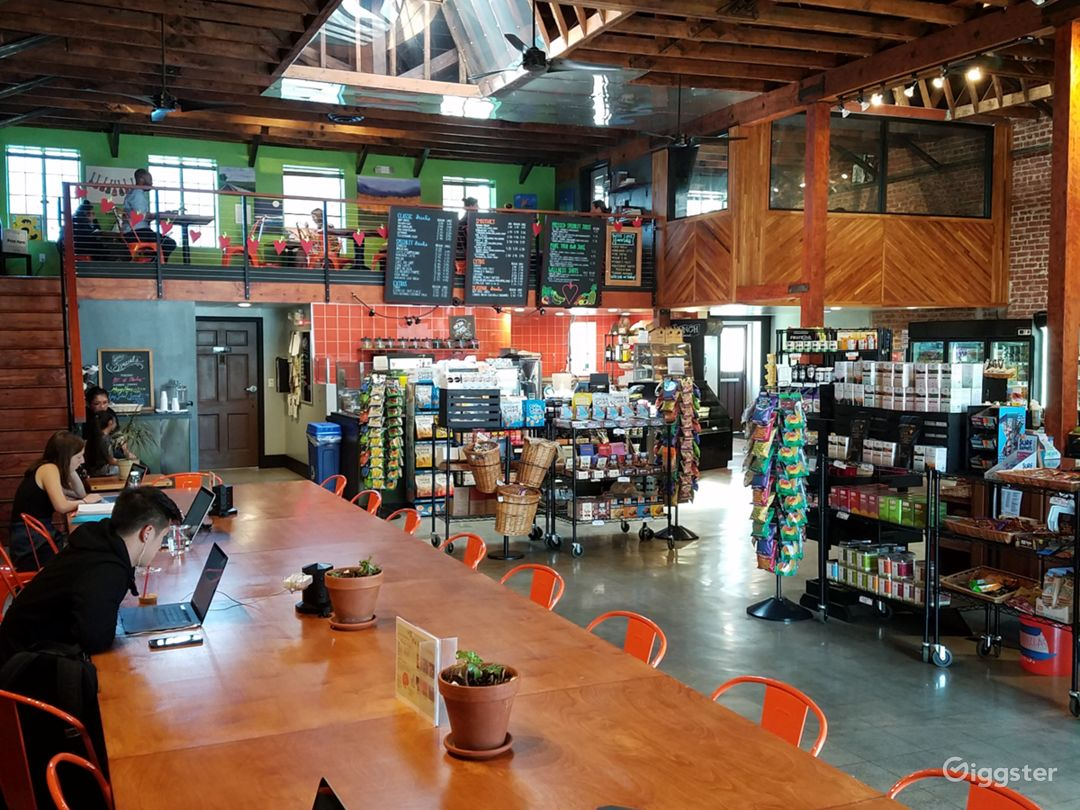 Cafe & Grocery Store In Restored Warehouse Photo 2