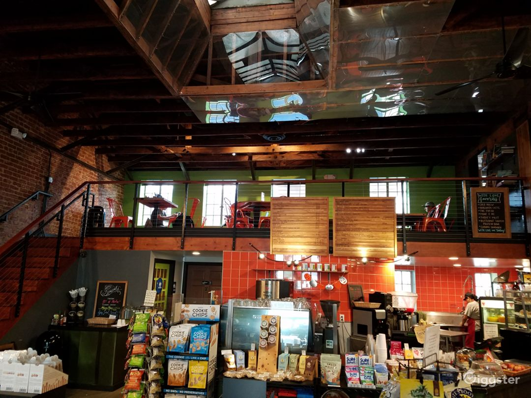 Cafe & Grocery Store In Restored Warehouse Photo 3