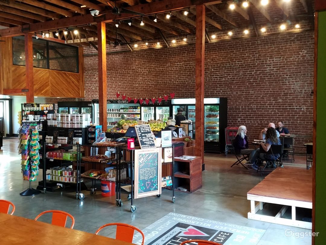 Cafe & Grocery Store In Restored Warehouse Photo 1