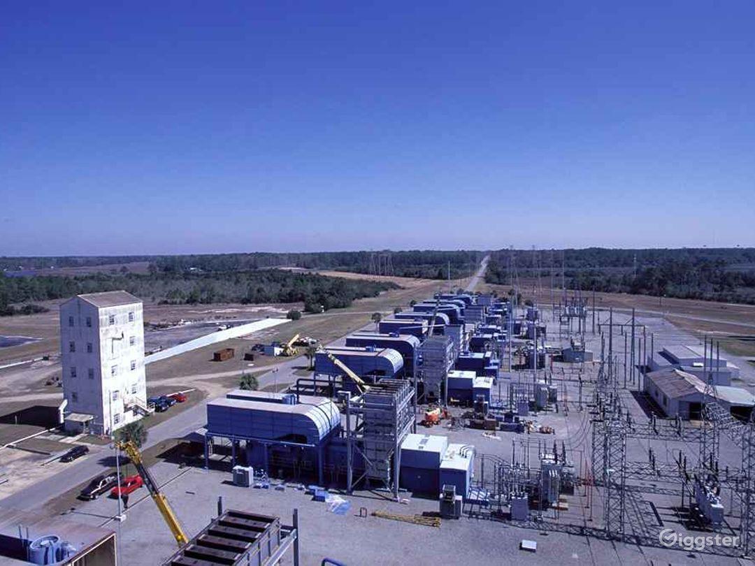 Brunswick Combustion Turbine Plant Photo 1