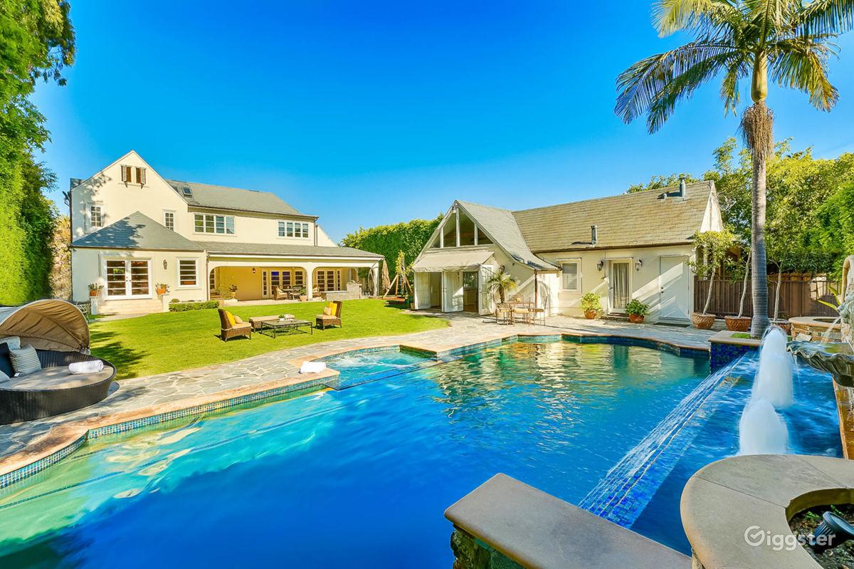 Luxury Villa with Posh Rooftop Los Angeles Rental