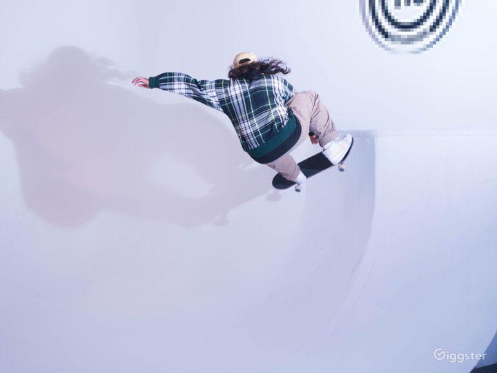 Production Film Studio// Skateable cyc! Photo 2