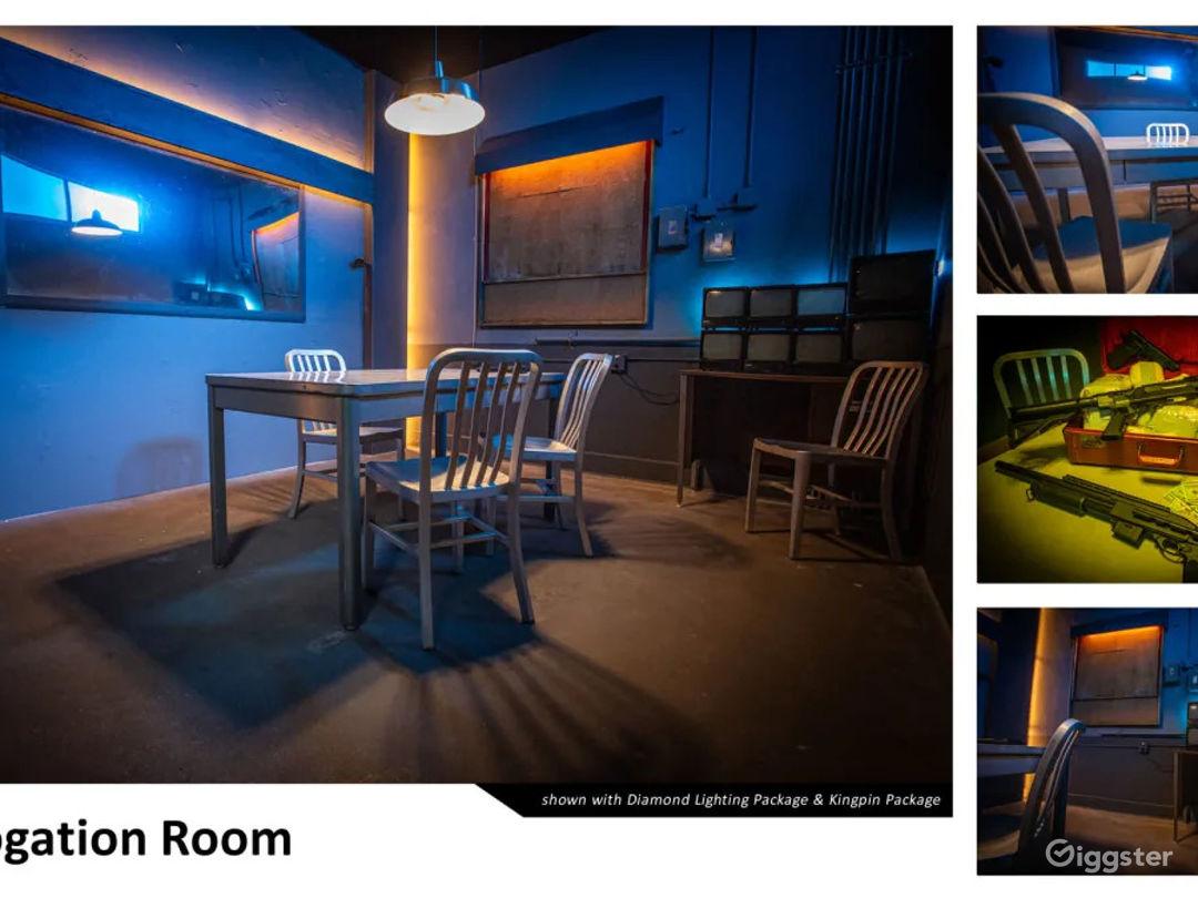 Grungy Interrogation Room | CreatorLA Photo 1