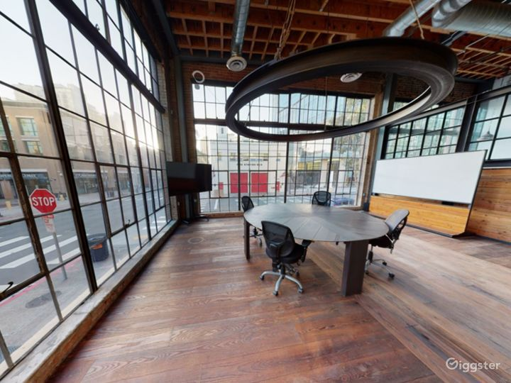 Spacious Conference Area - Floor to Ceiling window