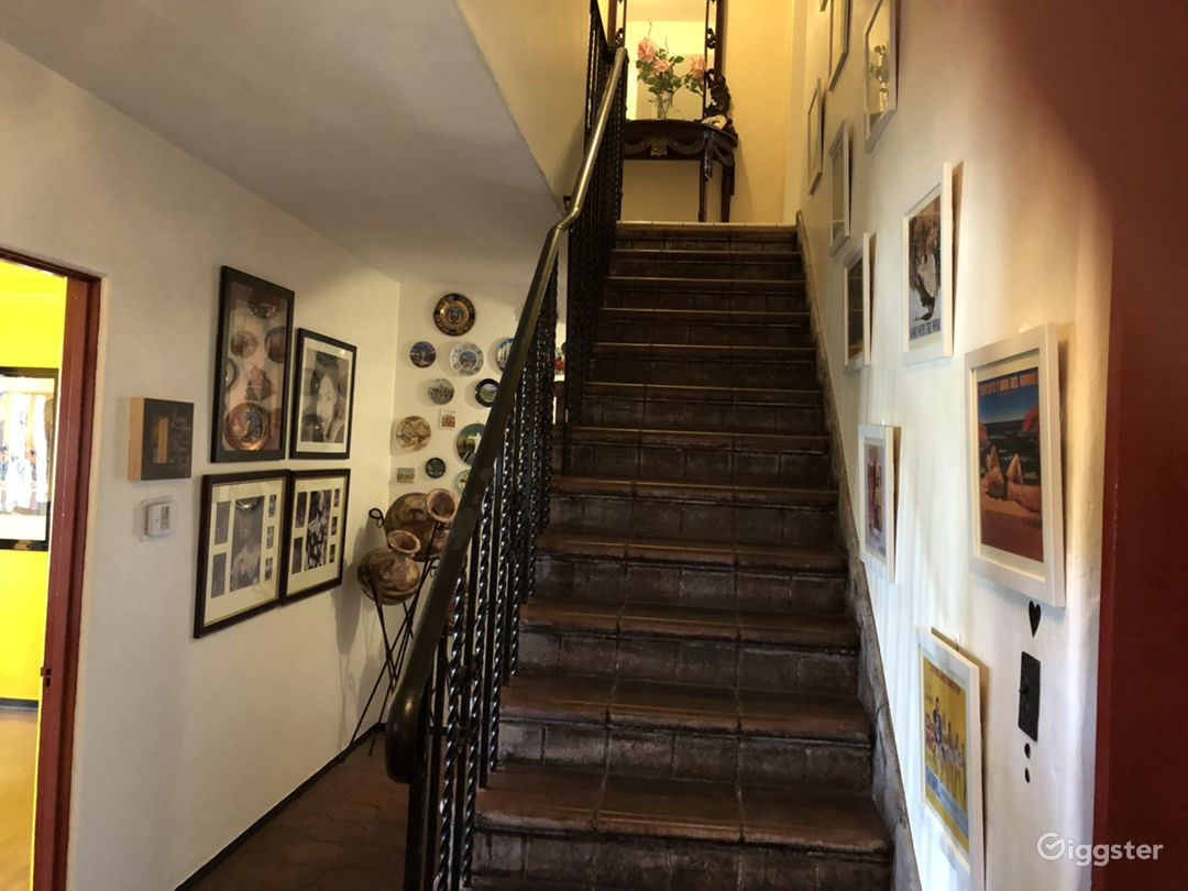 stairs to bedrooms upstairs (these are not avail for shoot)
