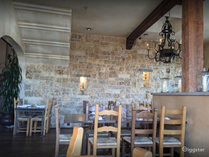 Classy Look Inside Dining Room Photo 5