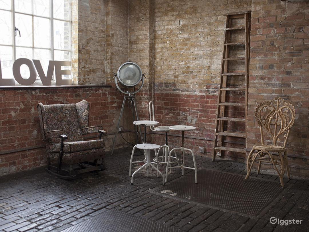 East London industrial studio location  Photo 1