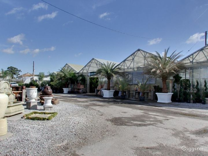 Greenhouses with selection of tropical plants Photo 2