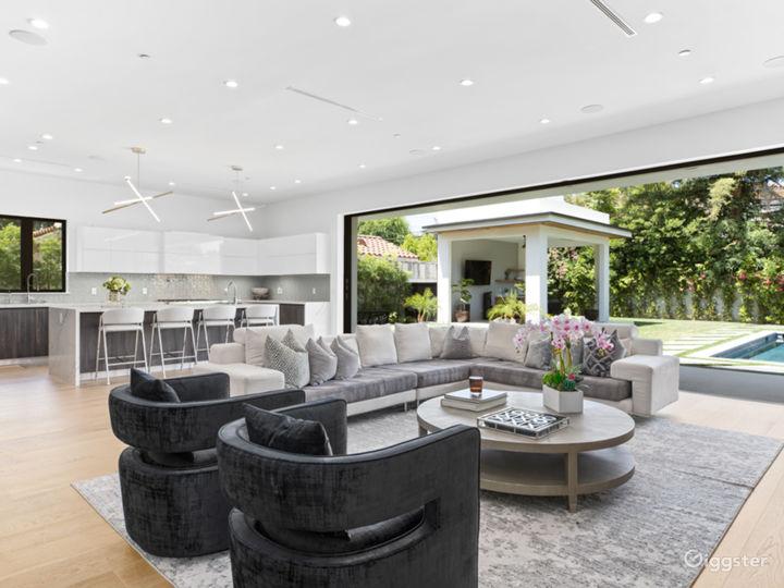 R modern home