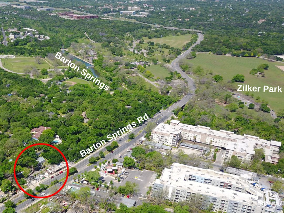 Location is prime with skyline views and right next to Zilker and Barton Springs Pool