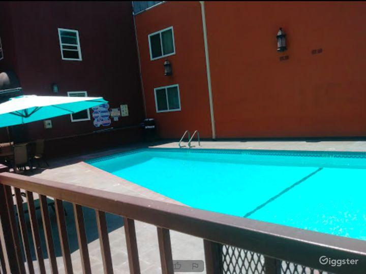 Outdoor Pool Area in LA Photo 5