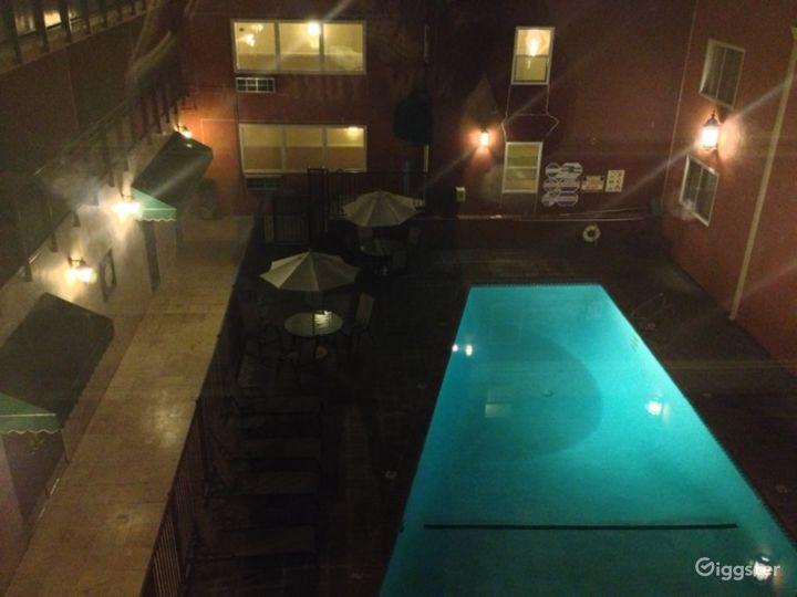 Outdoor Pool Area in LA Photo 3