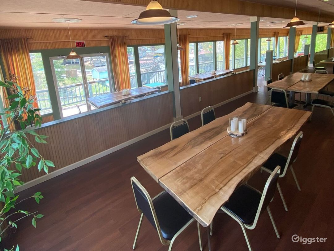 Indoor Dining Space with Mouthwatering Food Menu Photo 1