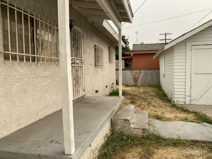 Front porch garage