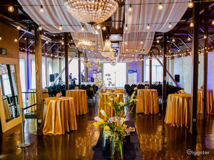 Modern and Chic Downtown Party and Event Venue