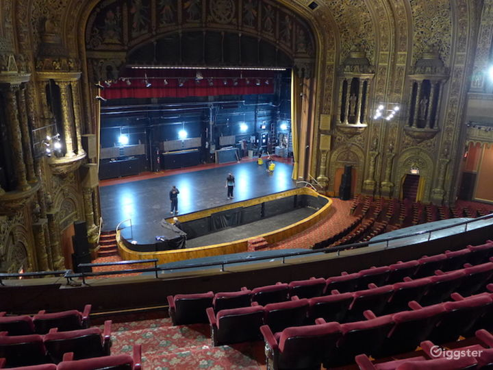 Huge Theater With Stunning Interior